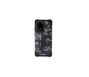 Colorfone Samsung S20 Ultra Hoesje Zwart - Anti Shock