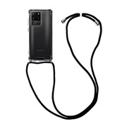 Colorfone Samsung S20 Ultra Case Transparent with cord