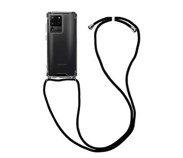 Colorfone Samsung S20 Ultra Hoesje Transparant met koord