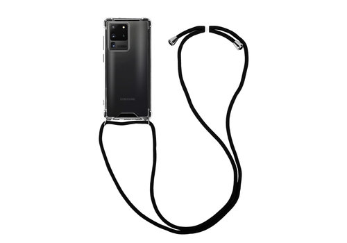 Samsung S20 Ultra Hoesje Transparant met koord