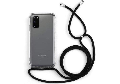 Samsung S20 Plus Hoesje Transparant met koord