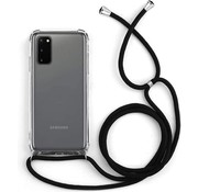 Colorfone Samsung S20 Hoesje Transparant met koord