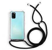 Colorfone Samsung A41 Hoesje Transparant met koord