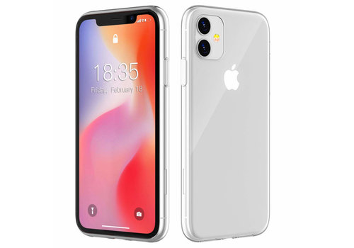 iPhone 12 Pro Max Hoesje Transparant 6.7 inch - CoolSkin3T