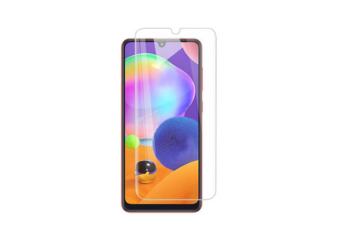 Samsung A31 Screenprotector - Glas 9H