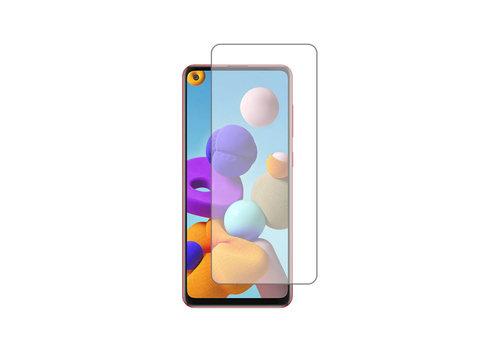 Samsung A21 Screenprotector - Glas 9H