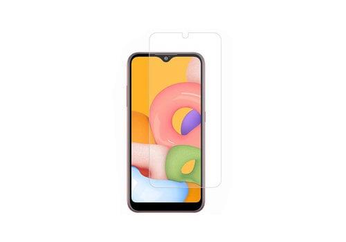 Samsung A01 Screenprotector Glas 9H