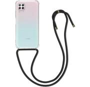 Colorfone Huawei P40 Lite Hoesje Transparant met koord