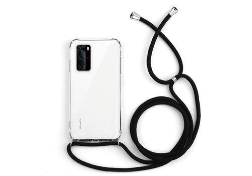 Huawei P40 Pro Hoesje Transparant met koord