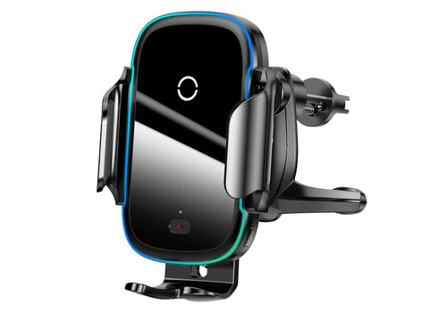 Phone Holder Car with Fast Charger - Black
