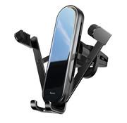 Baseus Telefoonhouder Auto Ventilatie - Zwart