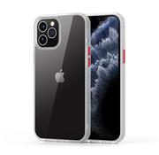 Devia iPhone 12 Mini Hardcase Hoesje Transparant Wit - Shark