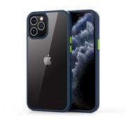 Devia iPhone 12 Mini Hoesje Transparant Blauw- Shark
