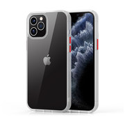 Devia iPhone 12/12 Pro Hoesje Transparant Wit - Shark