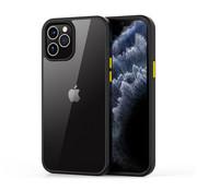 Devia iPhone 12/12 Pro Hoesje Transparant Zwart - Shark