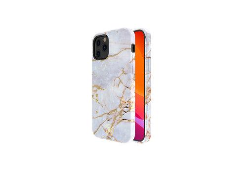 iPhone 12 Mini Hoesje Wit Marmer