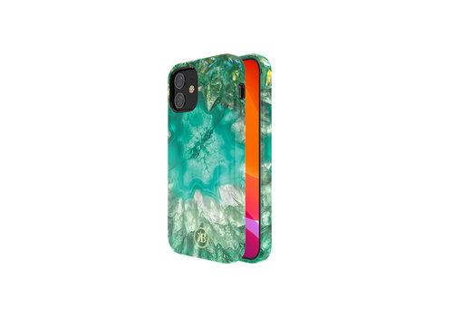 iPhone 12 Mini Hoesje Groen Kristal
