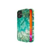 Kingxbar iPhone 12/12 Pro Hoesje Groen Marmer Kristal