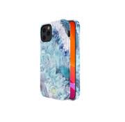 Kingxbar iPhone 12/12 Pro Hoesje Lichtblauw Kristal