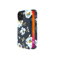iPhone 12 Mini Case Blue Floral Print Gardenia