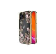 Kingxbar iPhone 12 en 12 Pro Hoesje Vlinder Roze met Swarovski Kristallen