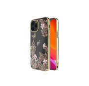 Kingxbar iPhone 12 Mini Case Butterfly Pink with Swarovski Crystals