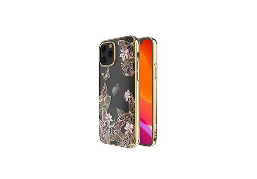 iPhone 12 Mini Hoesje Vlinder Roze