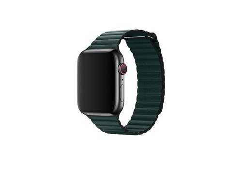 Apple Watch 38/40MM Bandje Groen - Leder