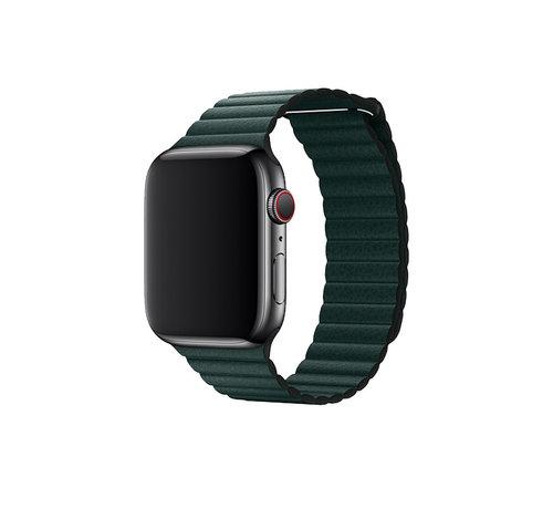 Devia Apple Watch 38/40MM Bandje Groen - Kunstleer