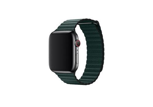 Apple Watch 42/44MM Bandje Groen - Leder