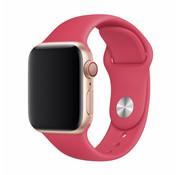 Devia Geschikt voor Apple Watch 38/40MM Bandje Rood- Sport Strap