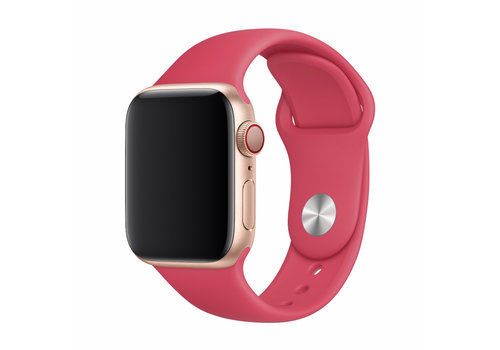 Apple Watch 38/40MM Bandje Rood- Sport Strap