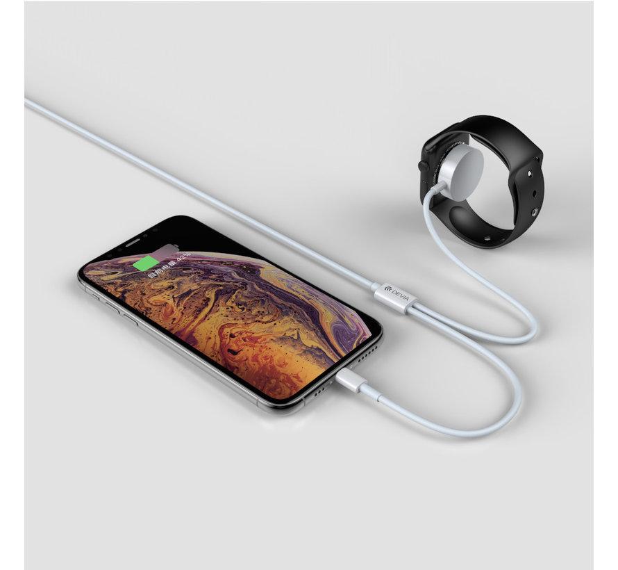 Kabel 2-in-1 oplader Apple Watch en Lightning