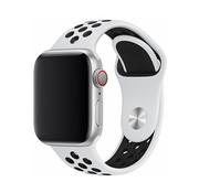 Devia Geschikt voor Apple Watch 42/44MM Bandje Wit - Sport Deluxe