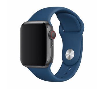 Devia Geschikt voor Apple Watch 38/40MM Bandje Blauw - Sport Deluxe