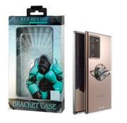 Atouchbo Samsung Note 20 Ultra Hoesje Transparant met Ring en Magneet