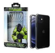 Atouchbo iPhone 12 en 12 Pro Hoesje - Military