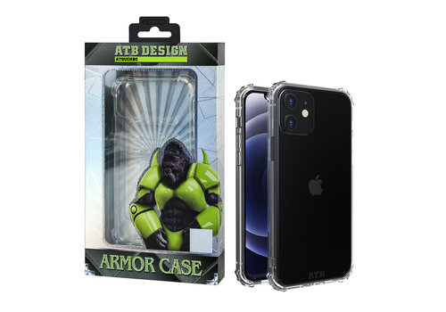 iPhone 12 en 12 Pro Hoesje - Military