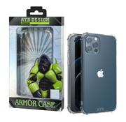 Atouchbo iPhone 12 Mini Hoesje - Military