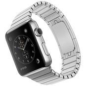 Devia Geschikt voor Apple Watch 38/40MM Metalen Schakel Bandje Zilver