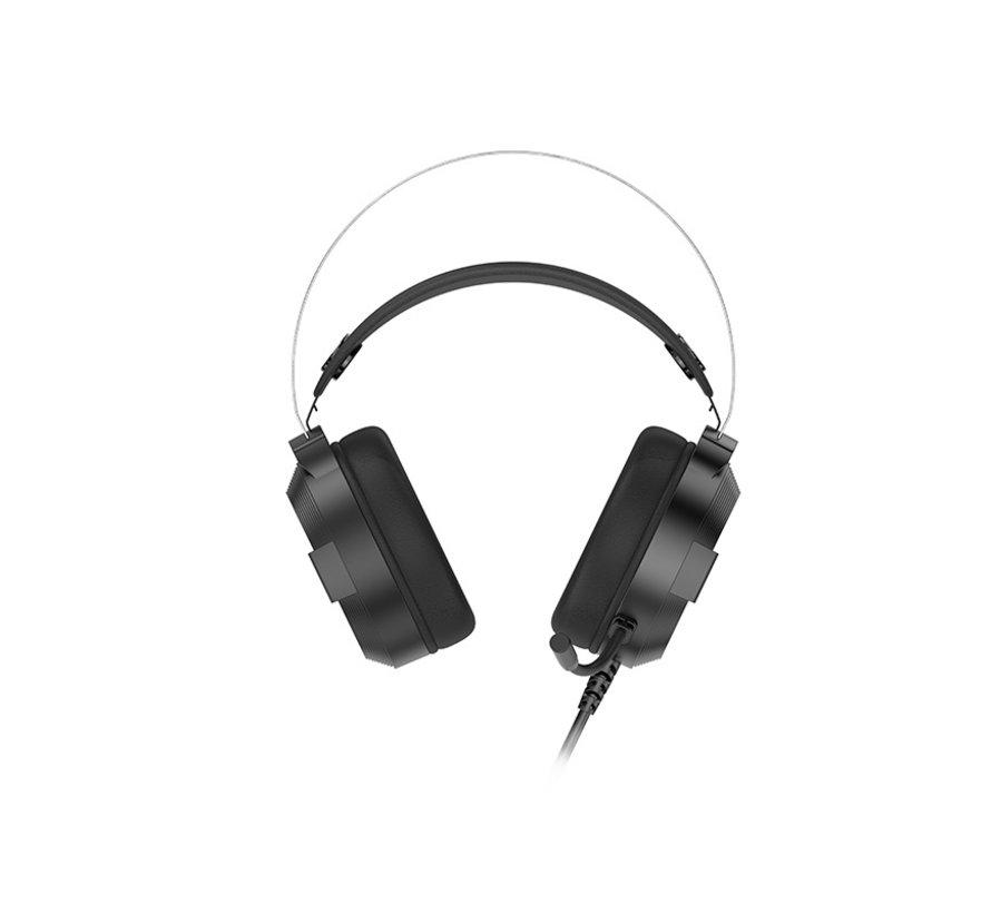 Gaming Headset - RBG licht - Luidspreker: Φ50 mm - Microfoon: Φ6,0 * 2,7 mm - Gevoeligheid: 108 ± 3dB