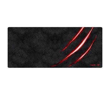 Havit Gaming Muismat Groot Zwart + Rood