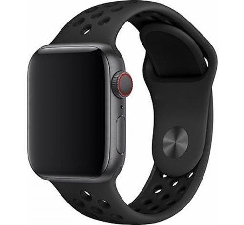 Devia Apple Watch 38/40MM Bandje Zwart - Sport Deluxe