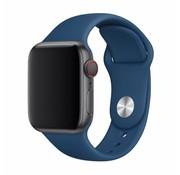 Devia Geschikt voor Apple Watch 42/44MM Bandje Blauw - Sport