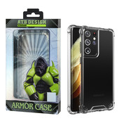 Atouchbo Samsung S21 Ultra Case Transparent - Anti-Shock