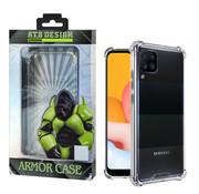 Atouchbo Samsung A42 Case Transparent - Anti-Shock