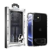 Atouchbo iPhone 12 Mini Hoesje Transparant - AntiShock en Standaard