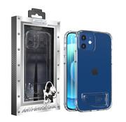Atouchbo iPhone 12 en 12 Pro Hoesje Transparant - AntiShock en Standaard