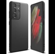 Merkloos Samsung S21 Ultra Hoesje Zwart - Slim