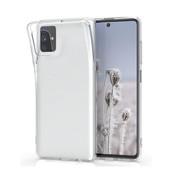 Samsung M51 Hoesje Transparant Wit - CoolSkin3T